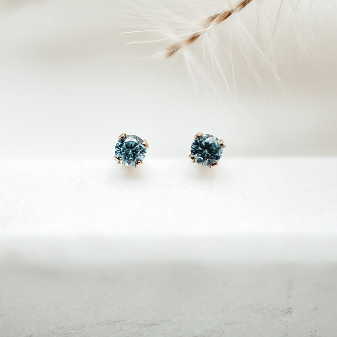 Birthstone Earrings - Quad Espresso Jewelry