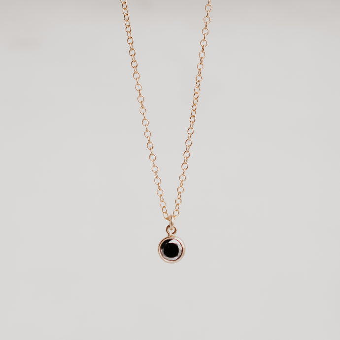 Black Charmer Necklace