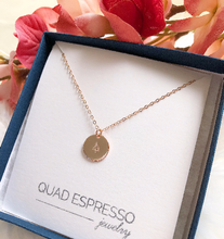 Evergreen Disc Necklace - Quad Espresso Jewelry