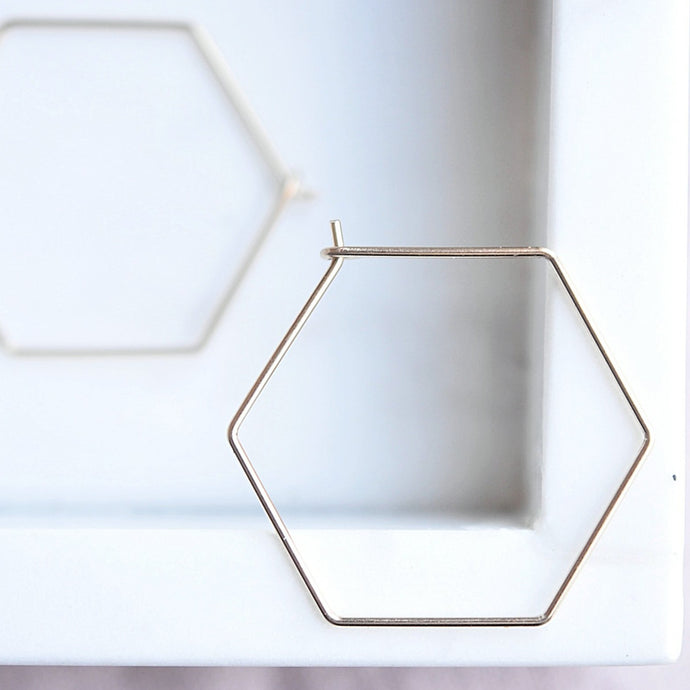 Hexagon Sliders - Quad Espresso Jewelry