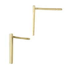 Rectangle Bar Stud Earring
