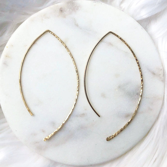 Hammered Waves - Quad Espresso Jewelry
