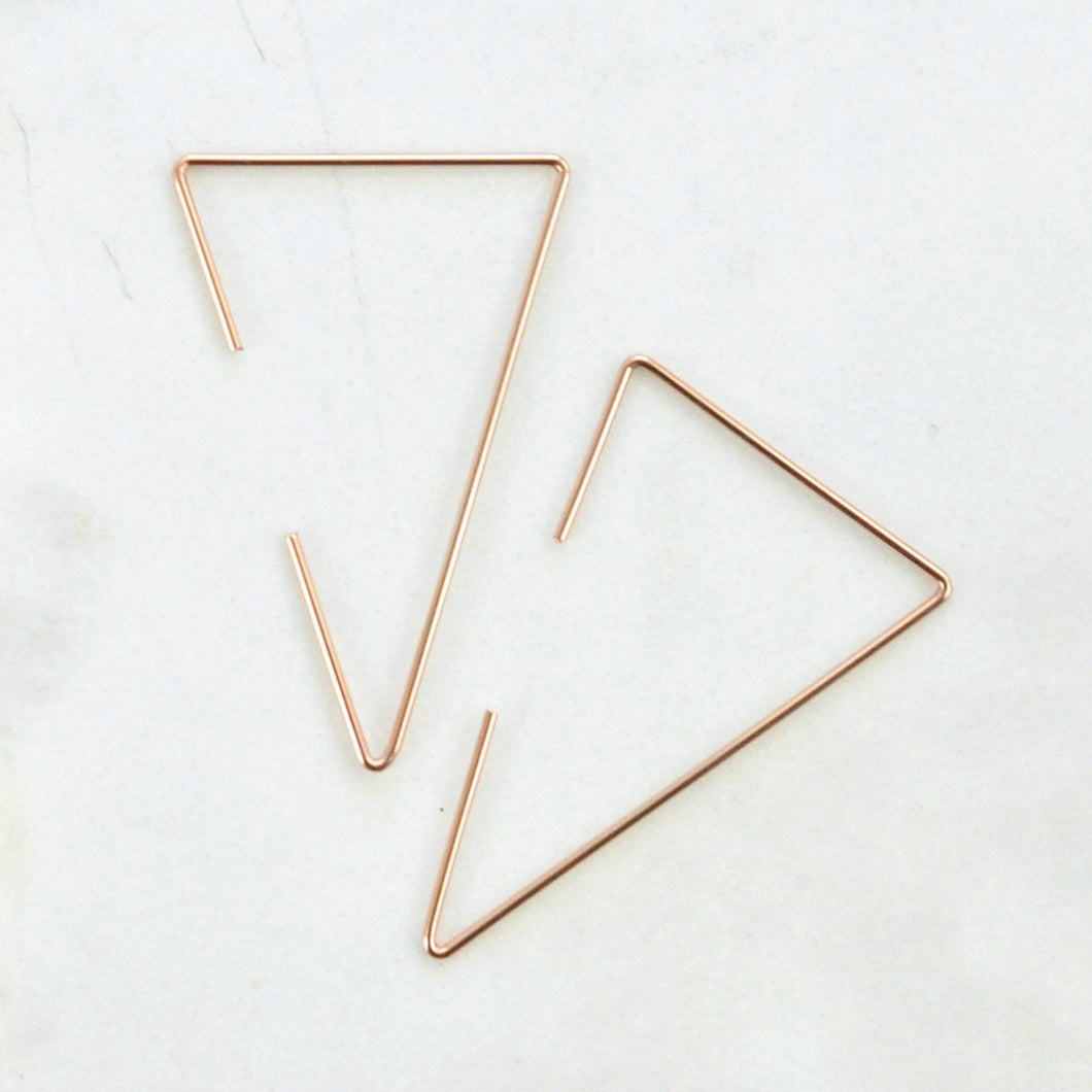 Trigon Earrings - Quad Espresso Jewelry