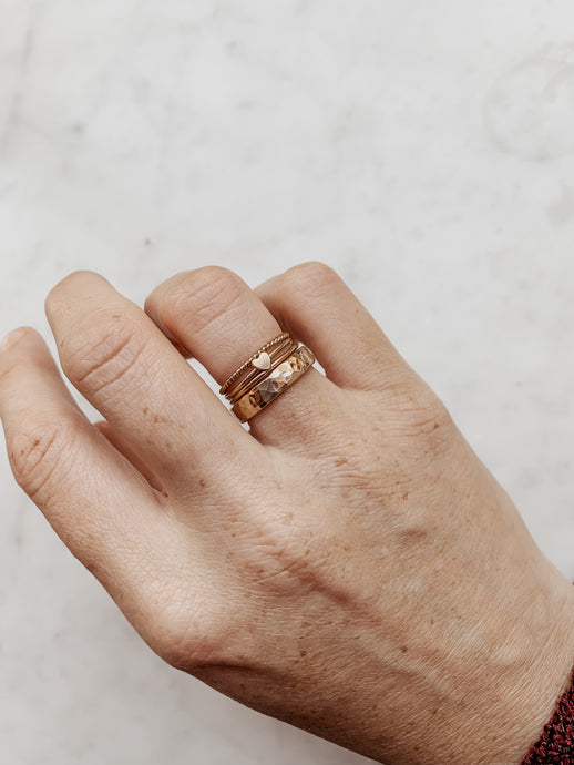 Ultimate Ring Stack - Quad Espresso Jewelry