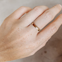 Flat & Twisted Ring Stack - Quad Espresso Jewelry