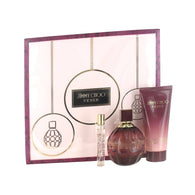 Jimmy Choo Fever 3.3oz EDP & .25 EDP & 3.3 Body Lotion