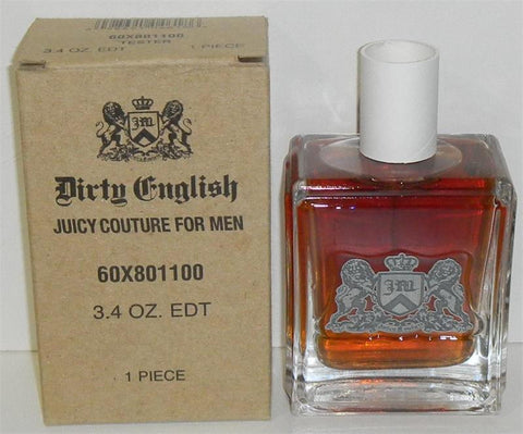 DIRTY ENGLISH For Men by Juicy Couture EDT 3.4 OZ. (Tester/no cap) - Aura Fragrances