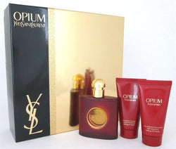 OPIUM By Yves Saint Laurent EDT 1.6oz/ BL 1.6oz/ SG 1.6oz For Women - Aura Fragrances