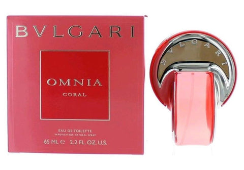 OMNIA CORAL For Women by Bvlgari EDT - Aura Fragrances