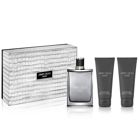 JIMMY CHOO MAN EDT 3.3 OZ./ S.G. 3.3 OZ / A. S. 3.3 OZ. - Aura Fragrances