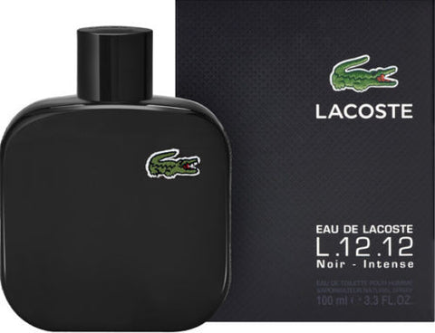 EAU DE LACOSTE L.12.12 NOIR INTENSE For Men by Lacoste EDT - Aura Fragrances