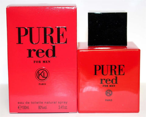 PURE RED For Men by Karen Low EDT - Aura Fragrances