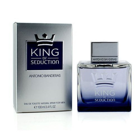 KING OF SEDUCTION For Men by Antonio Banderas EDT - Aura Fragrances