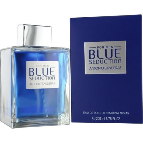 BLUE SEDUCTION For Men by Antonio Banderas EDT - Aura Fragrances