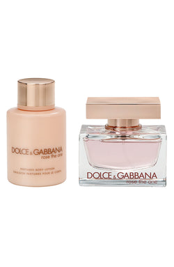 Dolce & Gabbana Rose The One 1.6oz EDP + 3.3oz Body Lotion