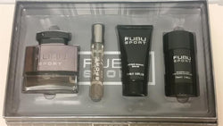 FUBU SPORT For Men by Fubu EDT 3.4oz/ .68oz/ Deo 2.5oz/ AS 2.5 OZ. - Aura Fragrances