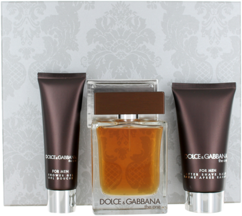 Dolce & Gabbana the One For Men 3.3 &1.6&1.6 OZ