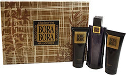 Bora Bora Men Gift Set 3.4oz EDT & 3.4 Shower Gel & 3.4 Aftershave Balm