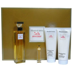 5TH AVENUE By Elizabeth Arden EDP 2.5oz/EDP .12oz/B.L. 3.3oz/H.C.C. 3.3oz For Women - Aura Fragrances