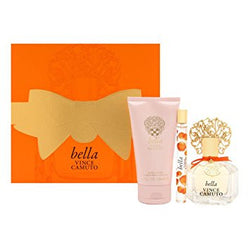 VINCE CAMUTO BELLA for Women 3.4oz EDP/.34 Parfum/5oz BL - Aura Fragrances