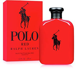 POLO RED For Men by Ralph Lauren EDT - Aura Fragrances