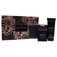Bvlgari Man in Black Set 3.4oz EDP & 3.4oz After Shave Balm & Pouch