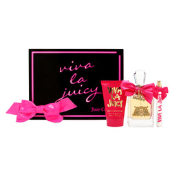VIVA LA JUICY for Women by Juicy Couture 3.4oz EDP/.33oz EDP/4.2 BL - Aura Fragrances