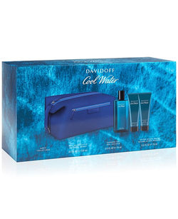 Cool Water for Men 4.2 EDT/2.5 SG/2.5 AS/Bag