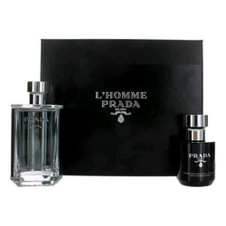 Prada L'homme For Men 3.4 oz & 3.4 oz  Tonic Shower Cream
