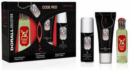 CODE RED 3PC SET MEN - Aura Fragrances