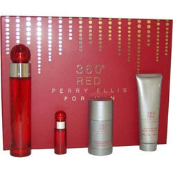 360 Red for Men by Perry Ellis EDT 3.4 oz & 2.75 oz & 3.0 oz & .25 oz