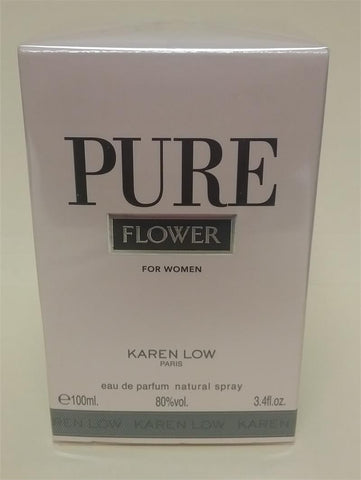 PURE FLOWER For Women by Karen Low EDP - Aura Fragrances