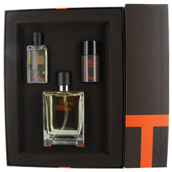 TERRE For Men by HERMES EDT 3.4 oz./S. G. 1.35 oz./ DEO 0.85 oz. - Aura Fragrances