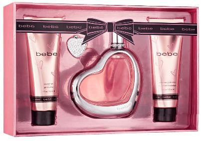 BEBE  By Bebe EDP 3.4oz/ BL 2.5oz/ SG 2.5oz For Women - Aura Fragrances