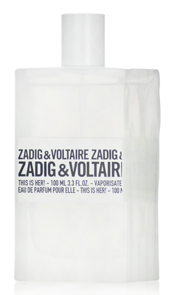 This is Her! Zadig & Voltaire Women EDP
