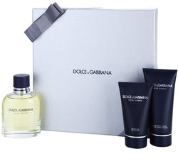 Dolce & Gabbana Pour Homme 4.2oz EDT/3.3oz AS/1.6oz SG