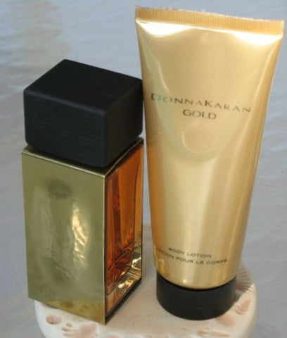 DONNA KARAN GOLD By Donna Karan EDP 1.7oz/B.L, 3.4oz/Cosmetic Pouch For Women - Aura Fragrances