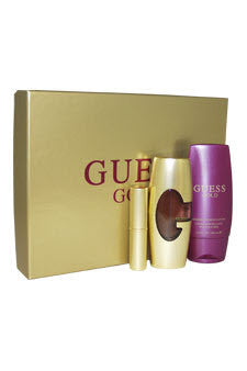 GUESS GOLD By Guess EDP 1.7oz/ B.L. 2.5oz/ Mini EDP .25oz For Women - Aura Fragrances