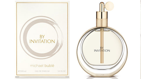 BY INVITATION for Women by Michael Buble EDP - Aura Fragrances