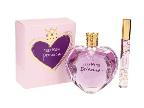 PRINCESS For Women by Vera Wang EDT 3.4 OZ. / Mini EDT  0.21 OZ. Roller Ball Women - Aura Fragrances