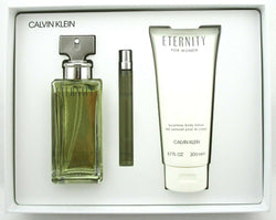 Eternity for Women 3.4oz EDP Gift Set