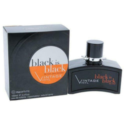 black is black vintage vinyl For Men