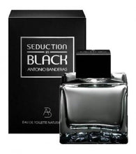SEDUCTION IN BLACK  For Men by Antonio Banderas EDT - Aura Fragrances