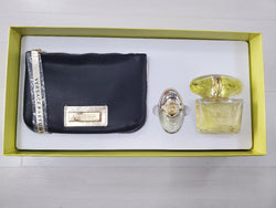 Versace Yellow Diamond for Women 3.0 & 0.3 & Pouch Gift Set