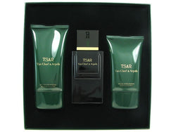 TSAR By Van Cleef & Arpels EDT 3.4oz/ A. Shave 3.3oz/ Shampoo 5.0oz For Men - Aura Fragrances