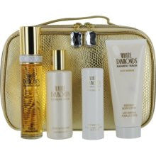 WHITE DIAMONDS By Elizabeth Taylor EDT 1.7oz/1.0oz/3.3oz/3.3oz/Cosmetic Bag For Women - Aura Fragrances