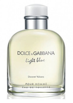 DOLCE & GABBANA LIGHT BLUE DISCOVER VULCANO For Men EDT - Aura Fragrances