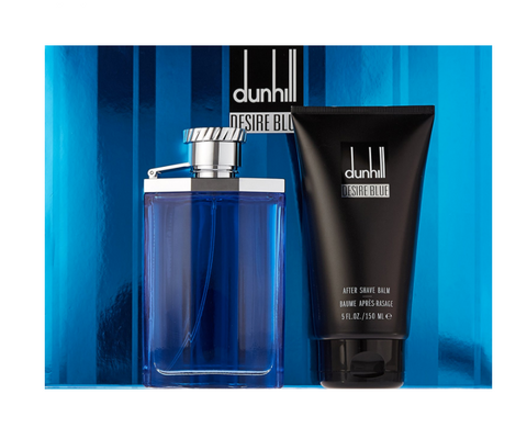 Dunhill Desire Blue for Men 3.4oz EDT/5.0oz After Shave Lotion