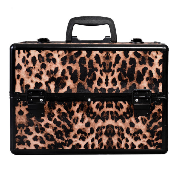 14''x9''x10'' Aluminum Makeup Train Case Jewelry Box for $0.39 at THOKO PLACE