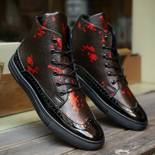 Men Casual Bullock Carved Retro Fashion Shoes for $0.50 at THOKO PLACE